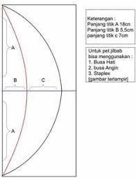 Hasil gambar untuk cara membuat pola khimar