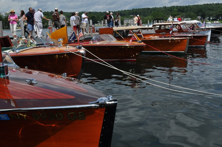 Chris Craft Boats in Hessel, Michigan