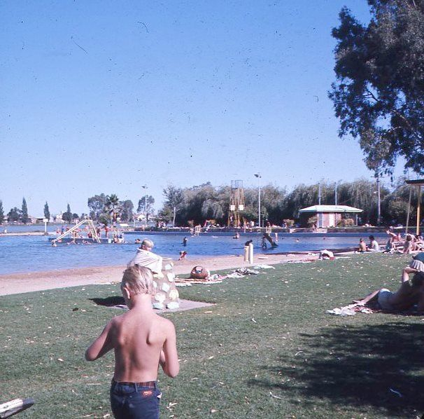 Raymond West Swimming Pool Shepparton - largest in land swimming pool in Australia