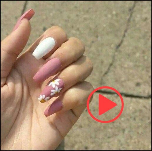 88+ best coffin nail & gel nail designs for summer 2019 – page 40 | homeinspirat…
