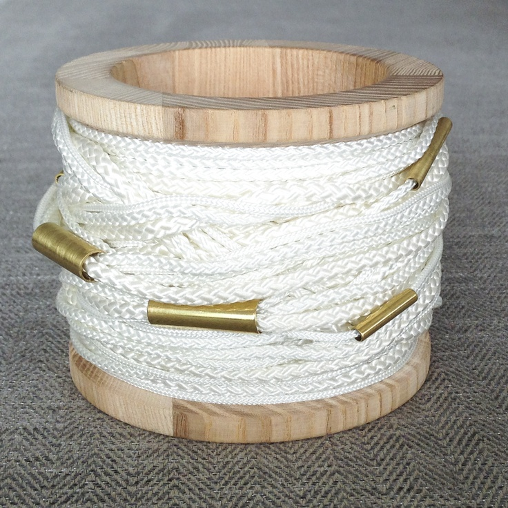 capstan - bracelet  a bracelet inspired by sailing an yachts