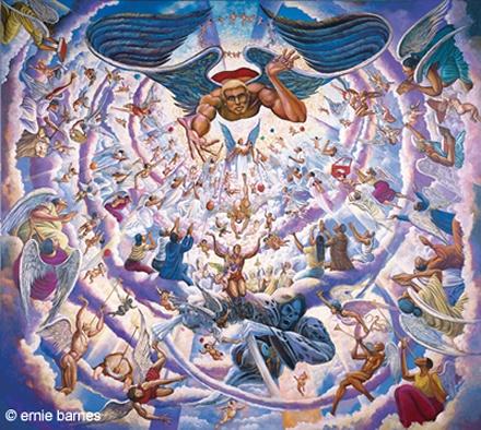 Ernie Barnes Paintings Ernie Barness A Life Restored