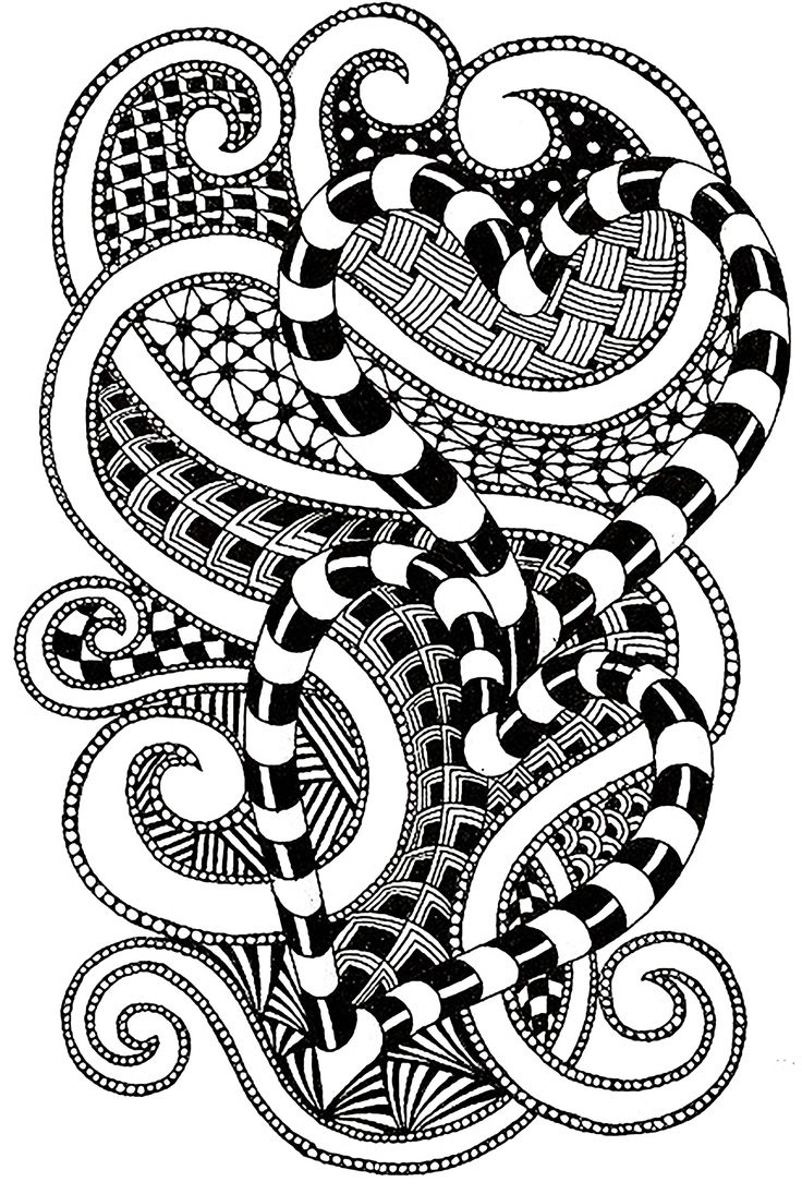 Coloring pages zen - Find This Pin And More On Zen And Anti Stress Coloring Pages By Justcolordotnet