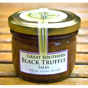 Black Truffle Salsa 110g by Great Southern Truffles.  Available at Jo-Ann & May's Online Gourmet Food www.jomaysgifthampers.com.au