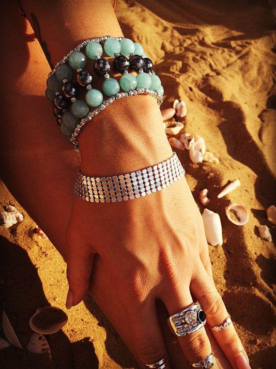 Amazing high gemstone bracelet magical power of от Monamibijoux
