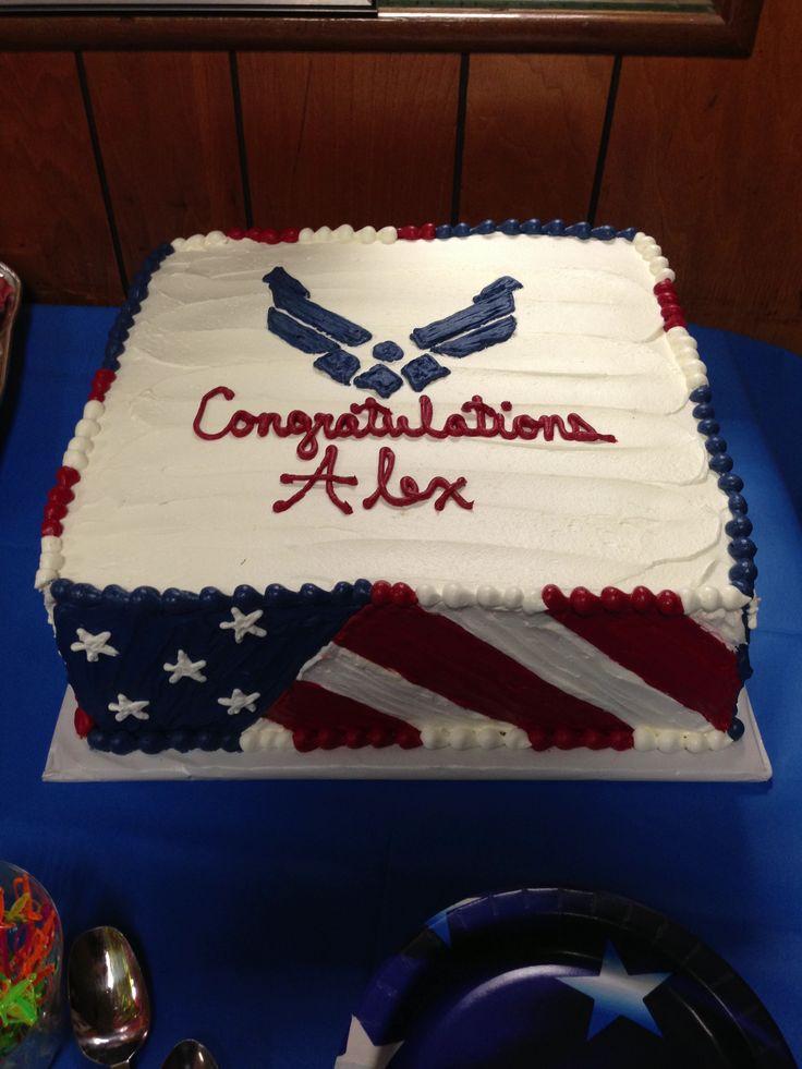 Air Force Retirement Cake Ideas