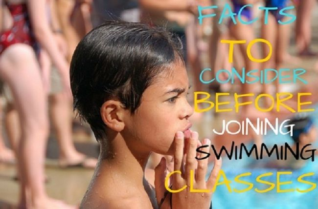 Factors to Consider Before Joining #Swimming #Classes