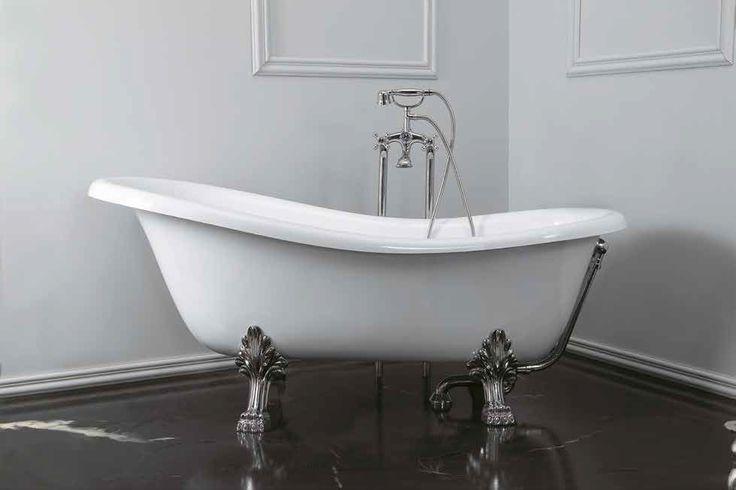 Vasca in ceramica consolle Royal #Althea in stile Belle époque, la protagonista della sala da #bagno