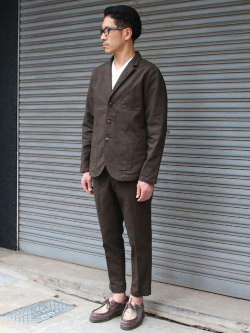 ヘビーオックスカバーオール3B Jacket【MADE IN JAPAN】『日本製』【送料無料】/ Upscape Audience - 【 Audience 】