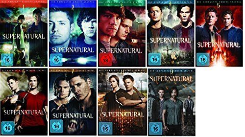 Supernatural Staffel/Season 1+2+3+4+5+6+7+8+9 * DVD Set