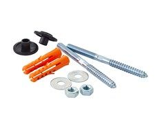 Basin Fixing Bolts (pair) £2.50 Toilet and Basin Accessories Guarantee & Aftercare During installation extra care must be taken to avoid damaging the fittings.