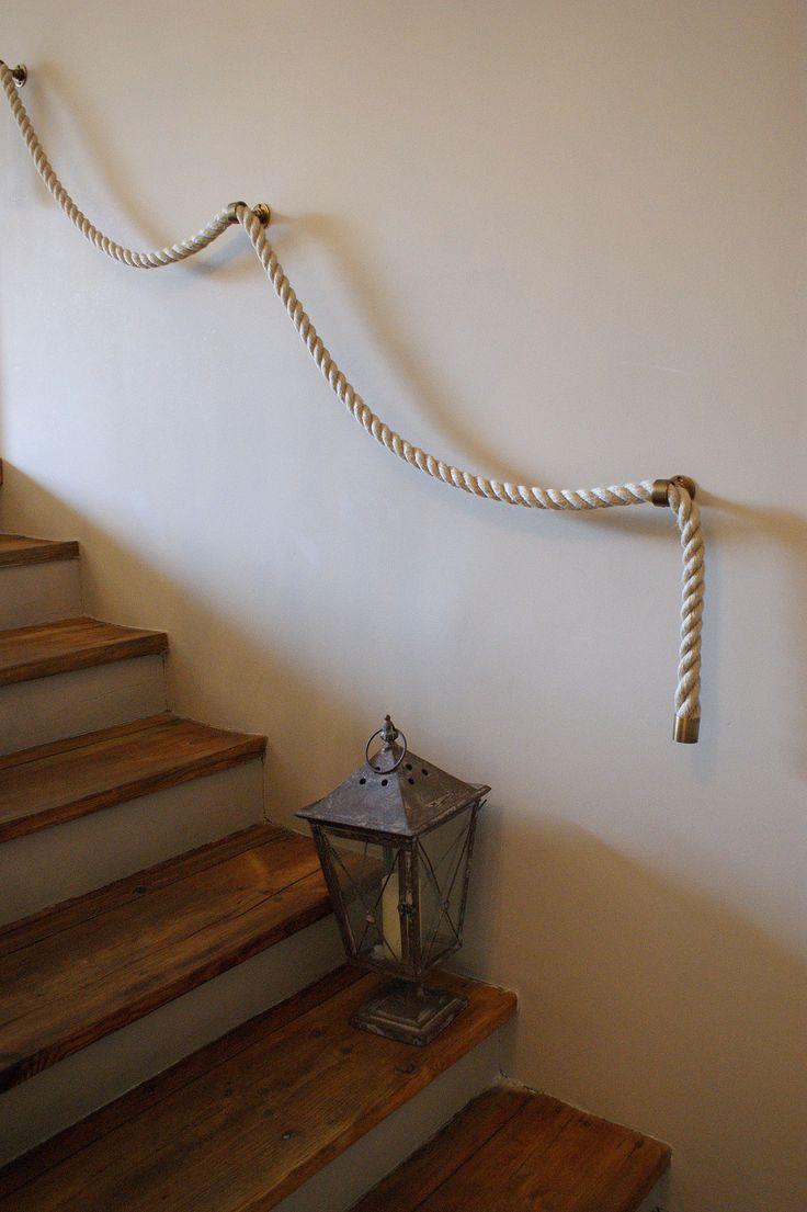 Lush Design - rope handrail