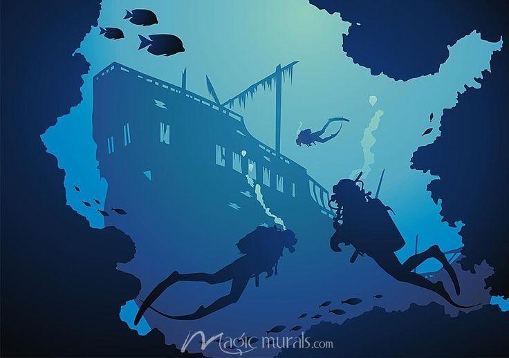 Sunken Ship Underwater Painting Sunken Ship Tattoo Underwater Pictures