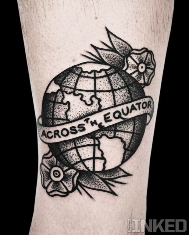 Mike Adams #freshlyinked #inkedmag #tattoo #tattoos #artist #tattooer #tattooist