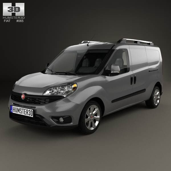 Fiat Doblo Cargo L2H1 2015 3d model from humster3d.com. Price: $75