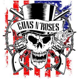 Estampa para camiseta Guns N' Roses 000235