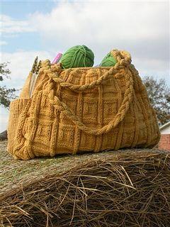 Big Honkin' Bag Free Pattern on Ravelry www.ravelry.com/patterns/library/big-honkin-bag