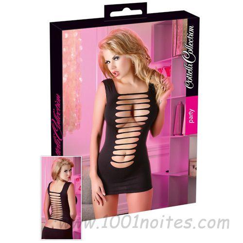 #sexshop #portugal #Sexy Vestido Aberto Preto Ragasdo Sexy  S-L
