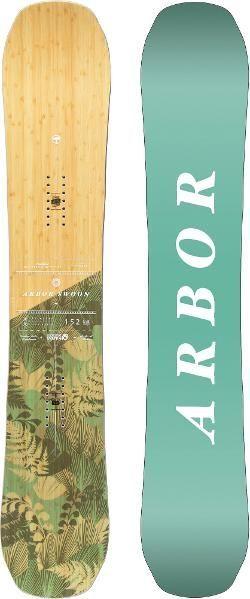 Arbor Women's Swoon Rocker Snowboard  152 Cm