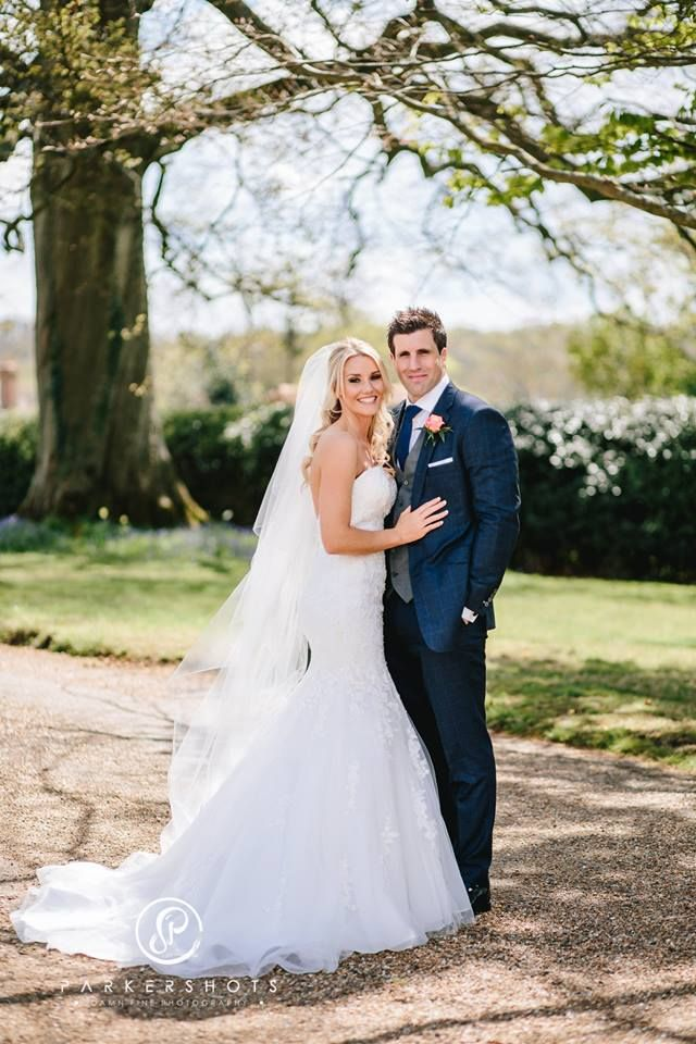 Our beautiful bride Charlotte