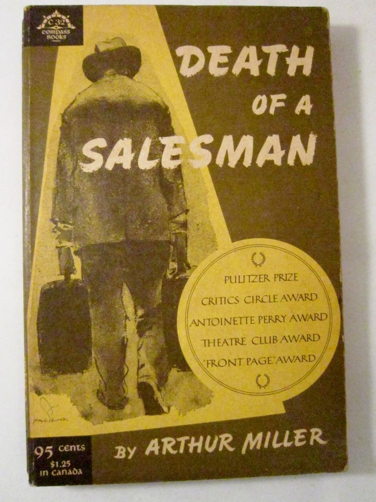 a review of arthur millers 1949 novel death of a salesman Harold clurman reviews death of a salesman the central figure of arthur miller's death of a salesman its style is like a clean accounting on the books of.