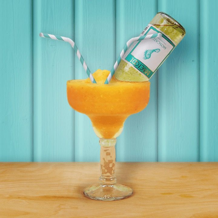 Barefoot Peach Moscato Margarita for Two   Barefoot Wine & Bubbly