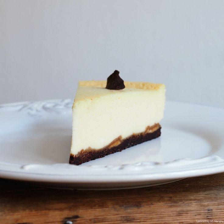 Laskominy od Maryny: Cheesecake s arašídovým máslem