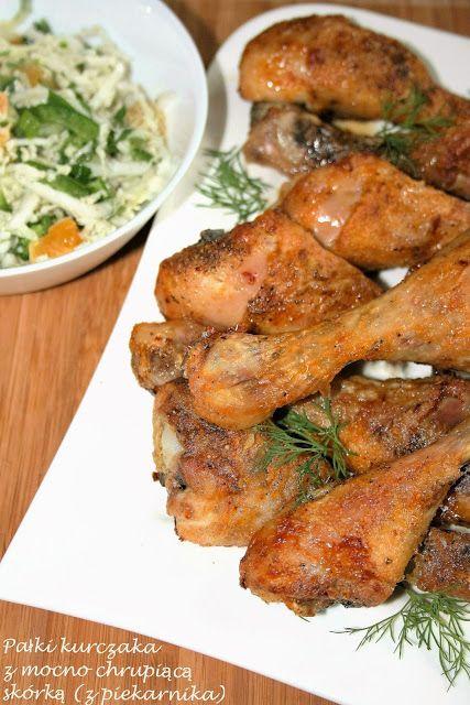Pałki kurczaka z mocno chrupiącą skórką (z piekarnika) | sio-smutki! Monika od kuchni