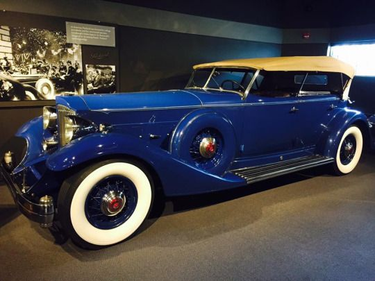 1933 Packard Twelve Model 1006 Sport Phaeton