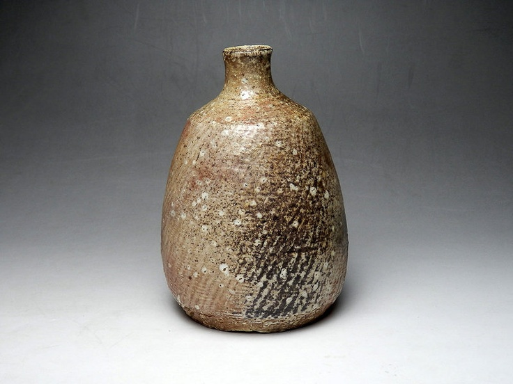 Tatsuzo Shimaoka Yohen Tokkuri Sake bottle