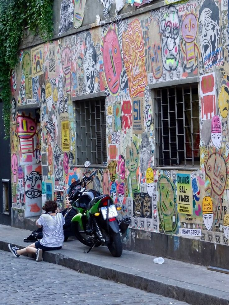 Colours of Palermo in Buenos Aires