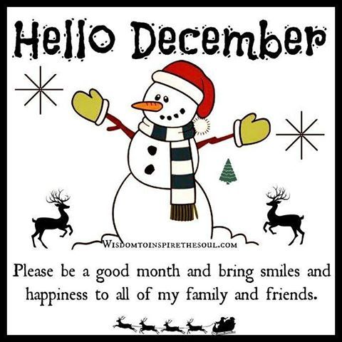 Hello December Pictures, Photos, and Images for Facebook, Tumblr, Pinterest, and Twitter