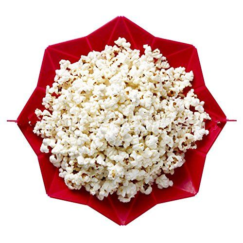 OUMOSI Microwave Silicone Popcorn Bowl Popcorn Popper Maker Healthy Snack Home Baking Tool * Read more  at the image link.
