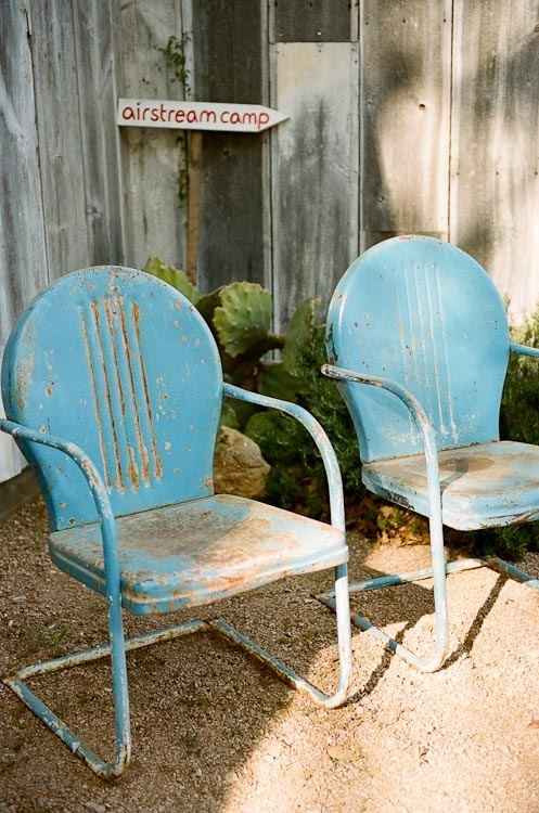 Attrayant Austin Ranch Wedding By Q Weddings. Vintage Metal ChairsMetal ...