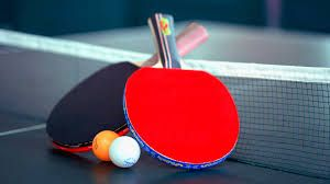Many People play Table Tennis.