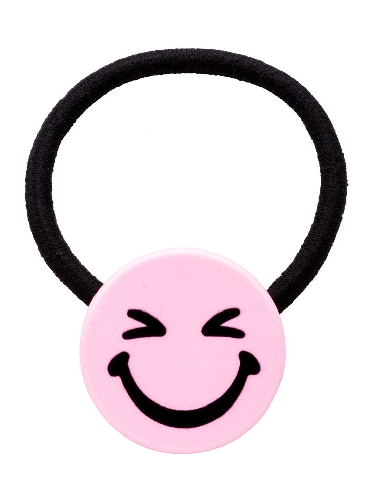 3$  Buy here - http://di6zh.justgood.pw/go.php?t=13462 - Light Purple Cartoon Smiley Face Hair Tie