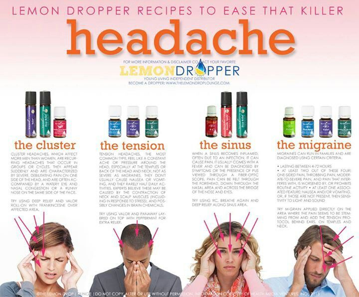 Headache options with Young Living Oils