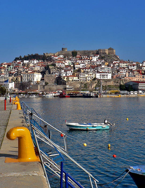 View of the port #Kavala #Greece