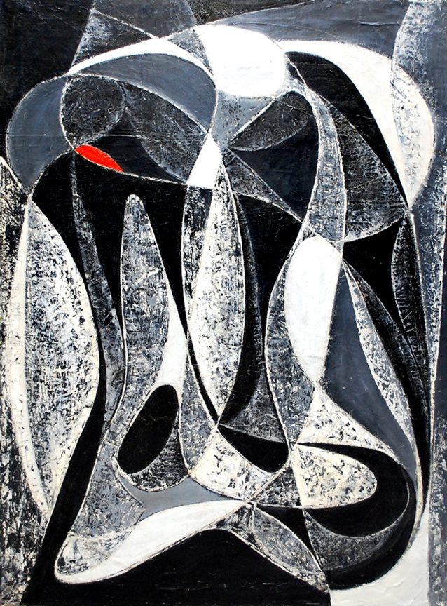 Seymour Fogel: Black and white color flow, c. 1950Flow 1950, Artists Seymour, Abstract Art, Black And White, Modernist Artists, Seymour Fogel, Colors Flow, 1950 Seymour, White Colors