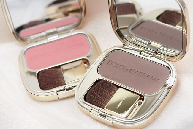 D&G blushes in Tan, Peach, Nude, and Rosebud
