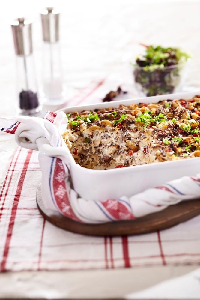Ruokaisa makaronilaatikko | Pirkka #food #recipes