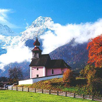 Kapelle in Au bei Lofer, SalzburgerLand © Österreich Werbung / Weinhäupl
