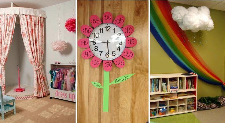 20 incroyables idées pour les garderies en milieu familial!