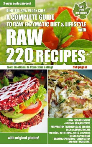 129 best raw vegan books images on pinterest vegan books my raw food book is finally here a complete guide forumfinder Images