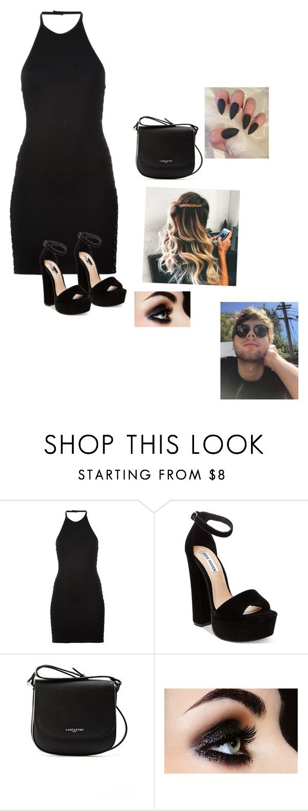 """Meeting Luke's family"" by sophiehemmings18 ❤ liked on Polyvore featuring Balmain, Steve Madden and Lancaster"