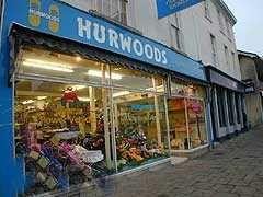 Hurwood's pram shop, Old Market, Bristol