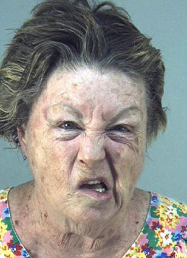 More Fun With Bad Mugshots!!!   Face transplants fer all! Check'em Out!