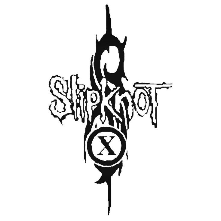 Slipknot Band Decal Sticker  BallzBeatz . com