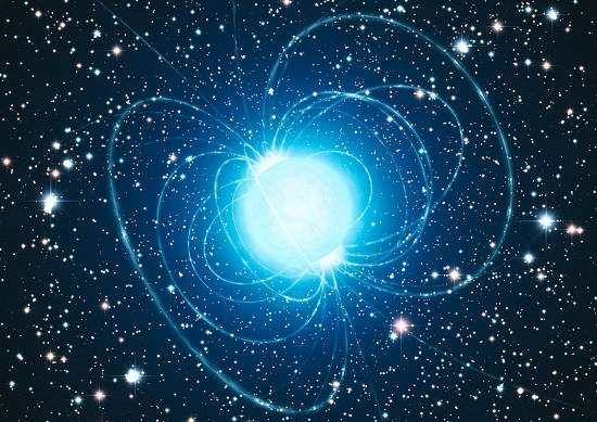 Astrônomos demonstraram pela primeira vez que uma estrela magnética – um tipo incomum de estrela de nêutrons, também conhecida como magnetar – se formou a partir de uma estrela com pelo menos 40 vezes a massa do Sol.    O resultado desafia as atuais teorias da evolução estelar, uma vez que, segundo estas teorias, uma estrela com massa dessa magnitude deveria transformar-se em um buraco negro, e não em uma estrela magnética.