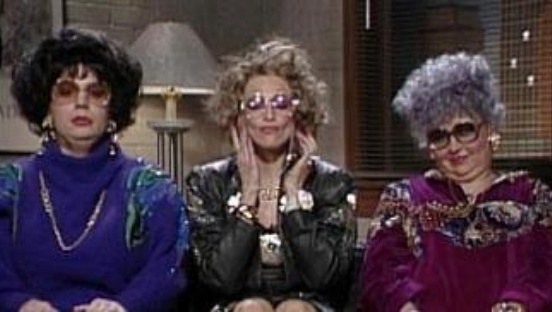 """I am feeling faklempt, talk amongst yourselves....""  Love Linda Richman! (SNL)"